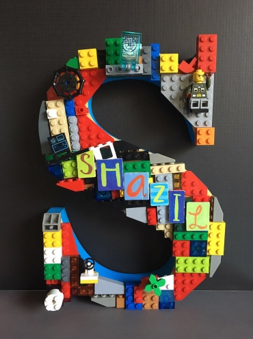 A Lego Dream standing alphabet 2
