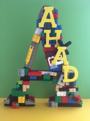 A Lego Dream standing alphabet-3