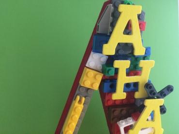 A Lego Dream standing alphabet-3 details