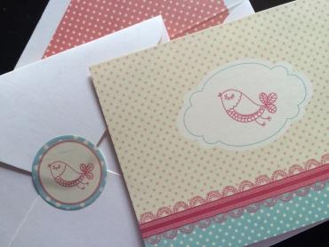 A little birdy-A2 Cards