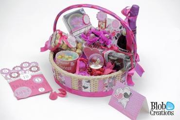 Adored gift basket