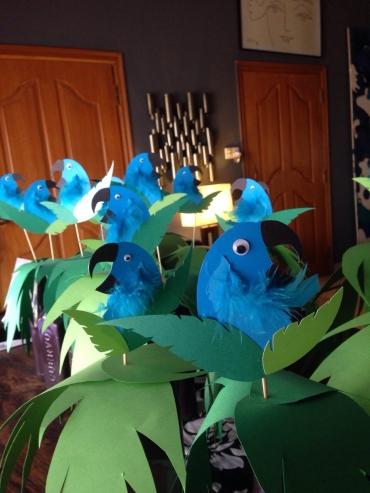 Blue Bird Toppers