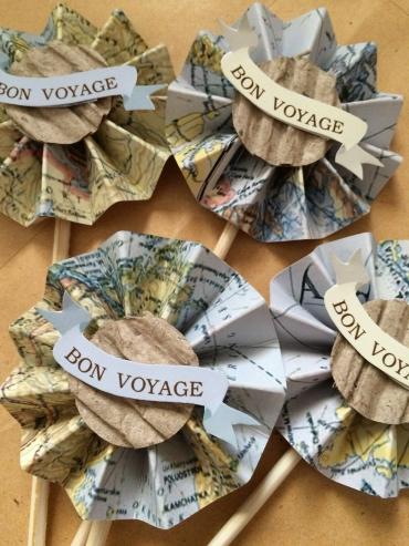 Bon Voyage toppers