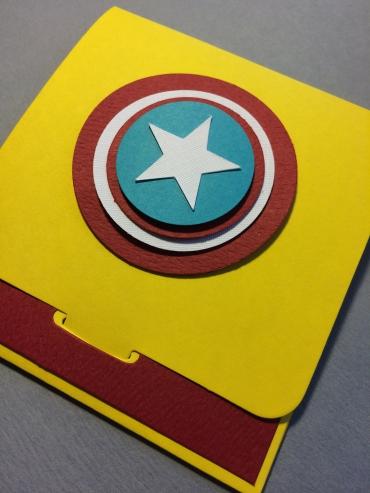 Captian America Envelope