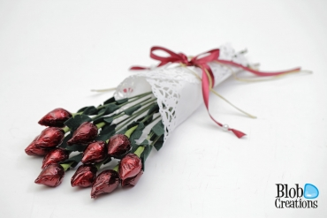 Chocolate Rose Buds