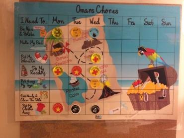 Custom Chore Chart