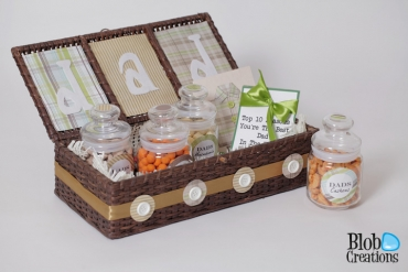 Fathers Day Basket details