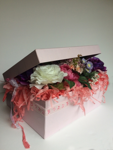 Full of flowers gift box details