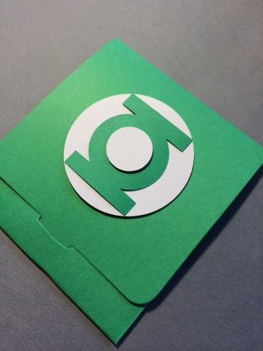 Green Lantern Envelope