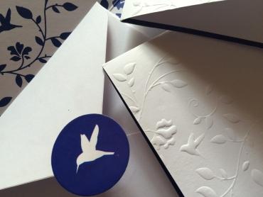 Humming Bird-A2 Cards
