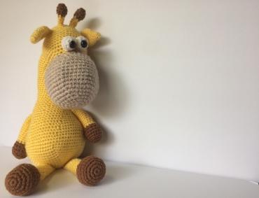 Jacqui the giraffe