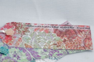 Little Rose Bud Bookmarks