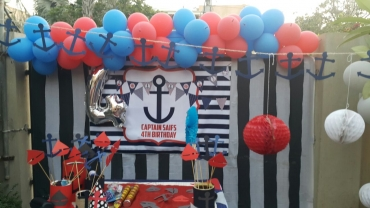 Nautical Theme Backdrop
