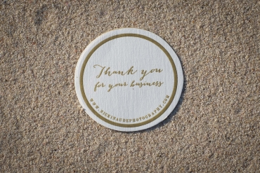 Nicki Naude Thank you card