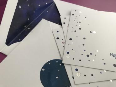 Night Sky-A2 card set
