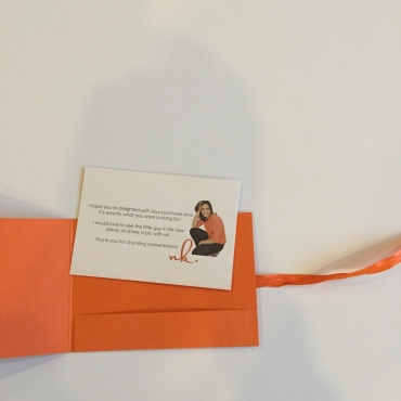 Noreen Kidwai Card insert