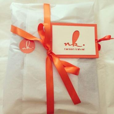Noreen Kidwai Packaging
