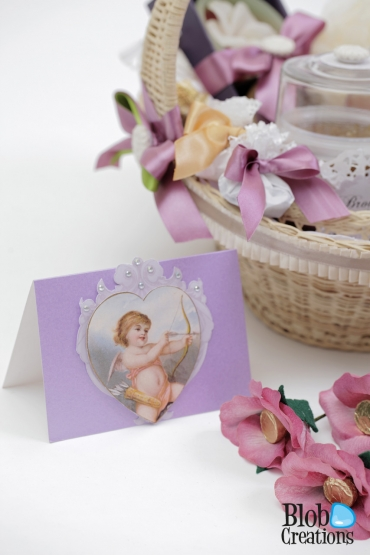Pamper your self basket card