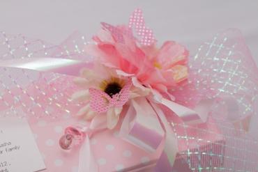 Pretty in pink details