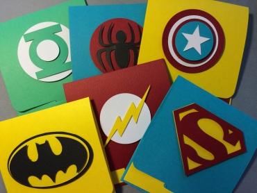 Super Hero Eidi Envelopes