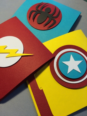 Super Hero Envelope
