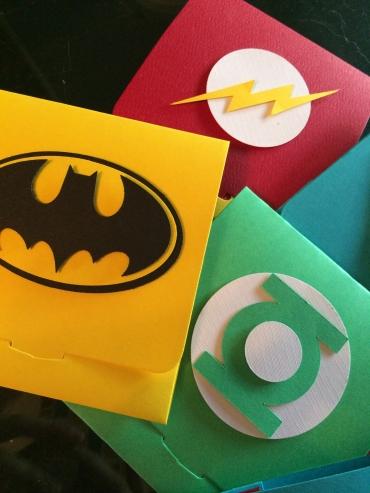 Super Hero Envelopes