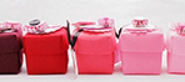 Valentines Felt Boxes