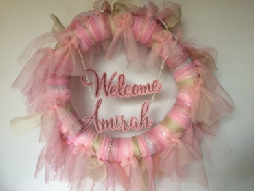 Welcome Baby Wreath 2