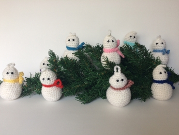 christmas tree snowmen